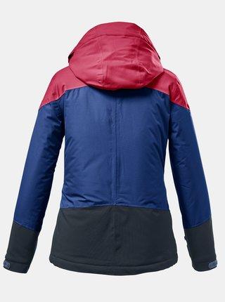 Šedo-modrá holčičí voděodolná bunda killtec