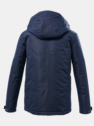 Tmavě modrá klučičí voděodolná bunda killtec
