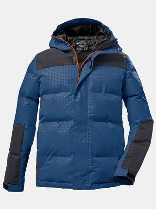 Modrá klučičí prošívaná zimní bunda killtec