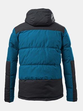 Modrá pánská zimní prošívaná voděodolná bunda killtec