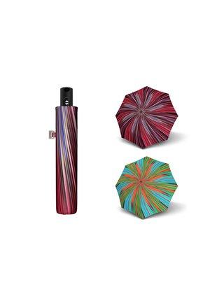Doppler Magic Carbonsteel Fantasy plně automatický deštník - Tyrkysová