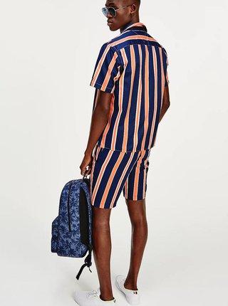 Modrý vzorovaný batoh Tommy Hilfiger