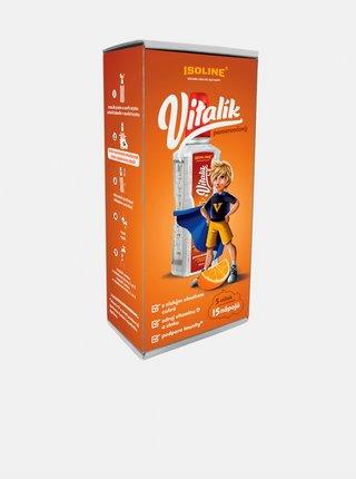 Vitamínový nápoj Vitalík pomerančový 5-pack Isoline (15 dávek)