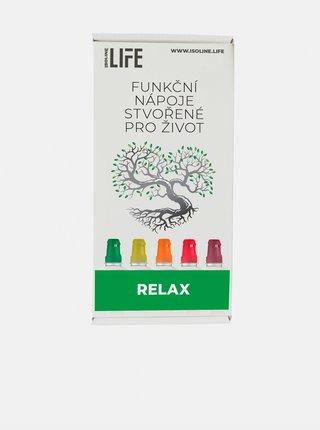 Funkční nápoj Relax 5-pack Zelený čaj a meruňka Isoline (15 dávek)