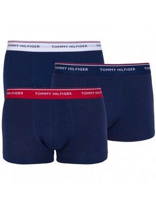 3PACK pánské boxerky Tommy Hilfiger tmavě modré