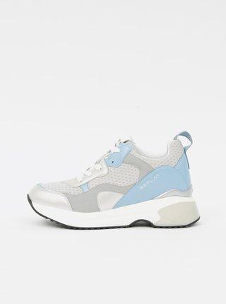 Tenisky pre ženy Replay - sivá, modrá