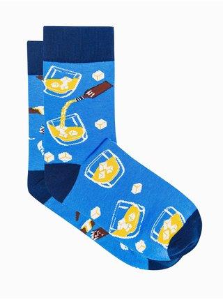 Pánské ponožky U167 - nebesky modrá