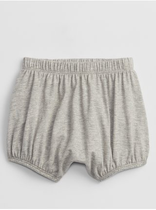 Šedé holčičí baby kraťasy bear bubble shorts GAP