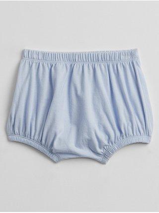 Modré holčičí baby kraťasy bear bubble shorts GAP