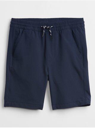 Modré klučičí dětská kraťasy tech pull-on shorts GAP