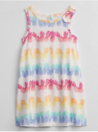 Barevné holčičí dětské šaty tank dress GAP