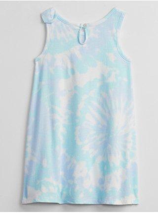 Modré holčičí dětské šaty tank dress GAP