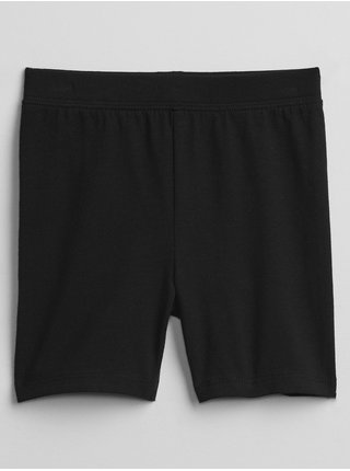Černé holčičí dětské kraťasy mix and match bike shorts GAP