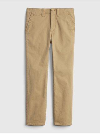 Béžové klučičí dětské kalhoty lived in chino GAP