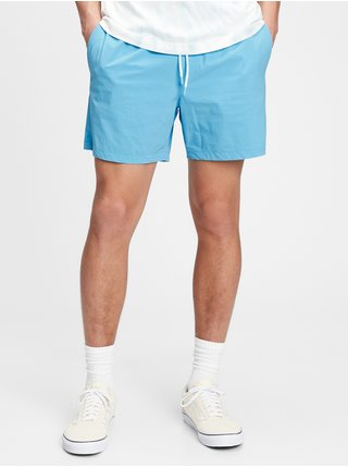 Modré pánské kraťasy 6 swim trunks