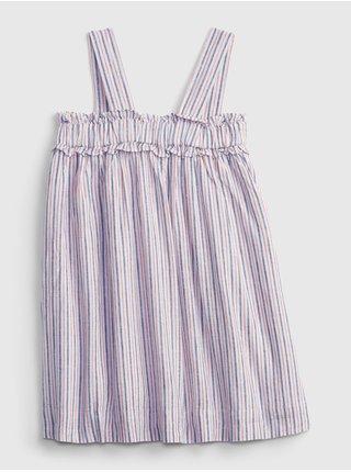 Barevné holčičí dětské šaty sleeveless empire aline dress GAP