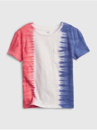 Barevné holčičí dětské tričko 100% organic cotton t-shirt GAP