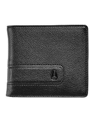 Nixon SHOWDOWN BI-FOLD ALLBLACK pánská značková peněženka - černá