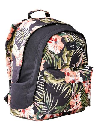 Rip Curl DOUBLE DOME VARIETY black batoh do školy - černá