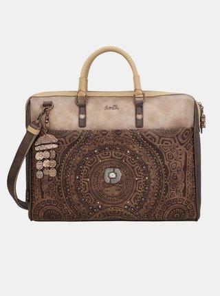 Anekke hnedé taška na notebook Ixchel Music