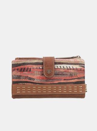 Anekke béžové peňaženka Kenya