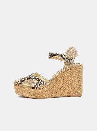 Sandále pre ženy Replay - hnedá