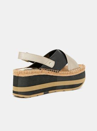 Sandále pre ženy Replay - zlatá, čierna