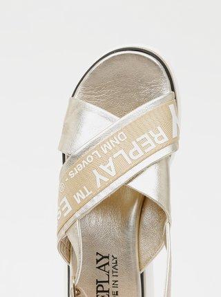 Sandále pre ženy Replay - zlatá