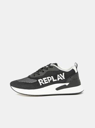 Tenisky pre ženy Replay - čierna