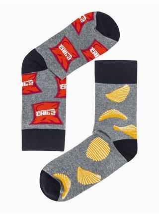 Pánské ponožky U168 - grafitová