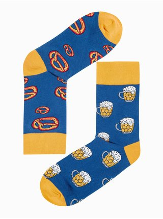 Pánské ponožky U169 - námořnická modrá