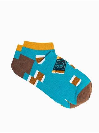 Pánské ponožky U172 - tyrkysová