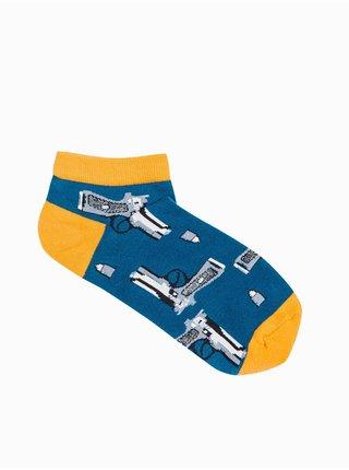 Pánské ponožky U173 - námořnická modrá