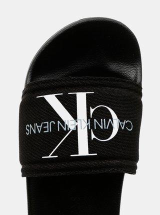 Černé dámské pantofle Calvin Klein