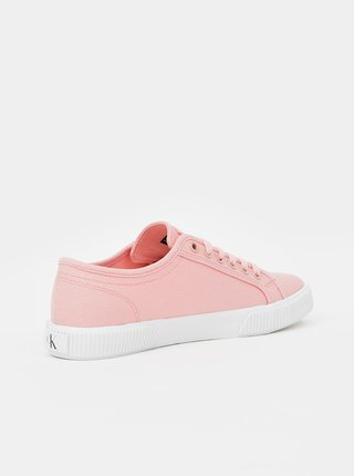 Růžové dámské tenisky Calvin Klein