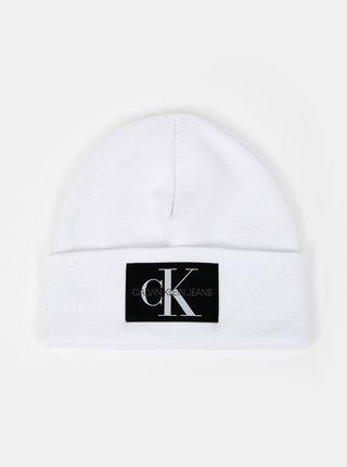Bílá pánská čepice Calvin Klein