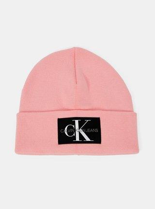 Ružová dámska čiapka Calvin Klein