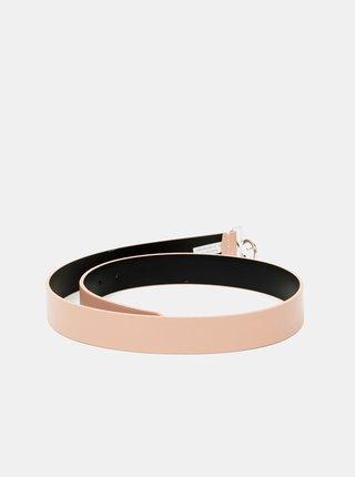 Meruňkový dámský kožený pásek Calvin Klein