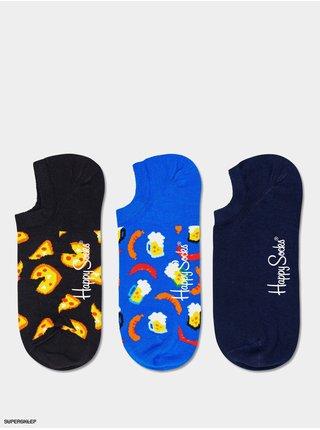 3PACK Ponožky Happy Socks Junk Food