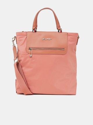 Ružová dámska veľká kabelka Tommy Hilfiger