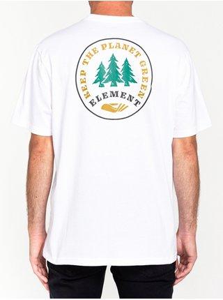 Element SPERA OPTIC WHITE pánské triko s krátkým rukávem - bílá