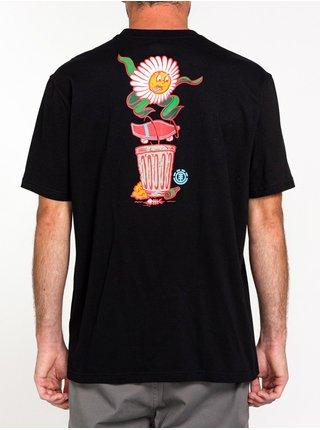 Element CANFIELD FLINT BLACK pánské triko s krátkým rukávem - černá