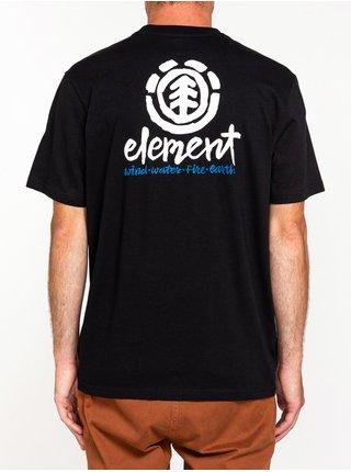 Element HENKE FLINT BLACK pánské triko s krátkým rukávem - černá