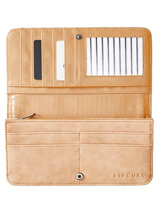 Rip Curl PALM SPRINGS BONE dámská značková peněženka - béžová