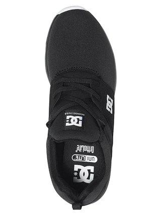 Dc HEATHROW black/white letní boty dětské - černá
