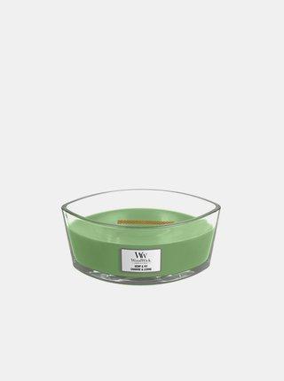 Vonná svíčka WoodWick Hemp & Ivy