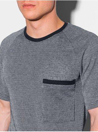 Pánské tričko bez potisku S1460 - námořnická