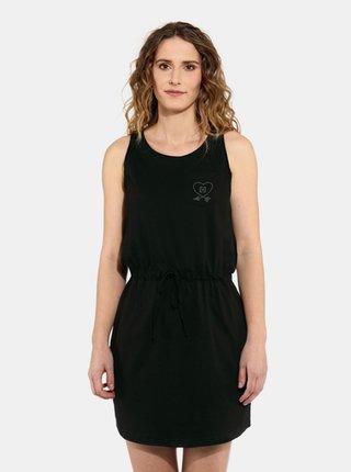 Horsefeathers ELLIS black krátké letní šaty - černá