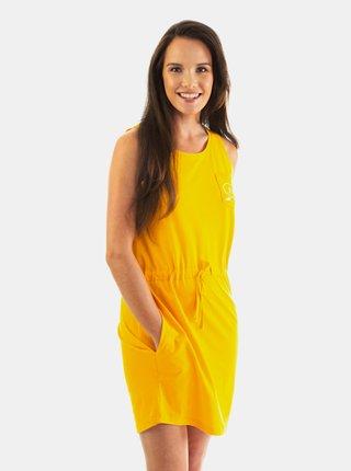 Horsefeathers ELLIS CITRUS krátké letní šaty - žlutá