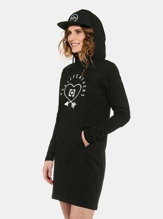 Horsefeathers IVEY black krátké letní šaty - černá